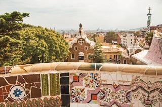 Barcelona-park-taalreis