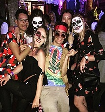 student-halloween-party