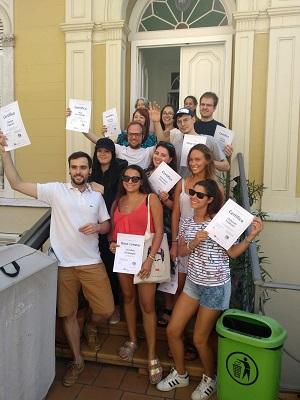Certificaat behaald op de Spaanse taalschool