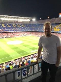 Voetbalstadion Barcelona bezocht na Spaanse taalcursus