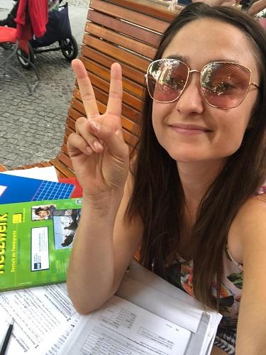 Huiswerk maken na de Duitse cursus