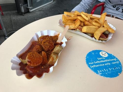 Lunch op Duitse taalschool GLS