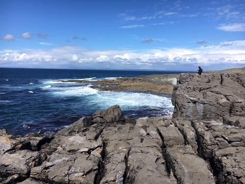 Mooie cliffs bij Cork, Ierland.