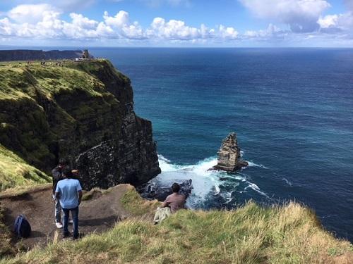 Mooi uitzicht tijdens taalreis Ierland