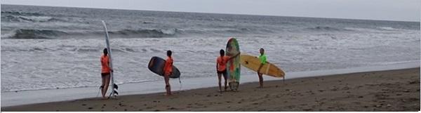 Surfen na de Spaanse lessen van de taalschool