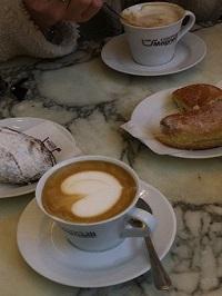 Italiaans ontbijtje in Florence