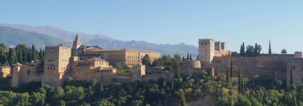 Het indrukwekkende Alhambra