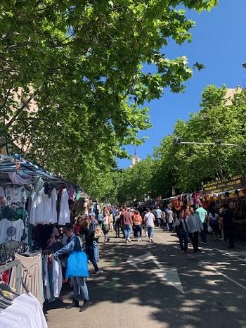 Markt in Madrid