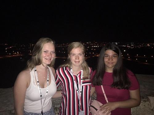 Met cursisten van de Engelse taalschool op Malta
