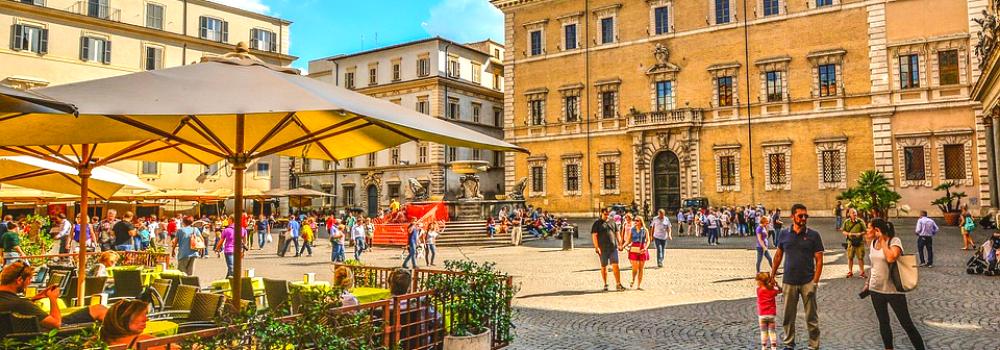 Rome ontdekken tijdens het volgen van een Taalcursus Italiaans in Rome! Italiaans leren in Rome was nog nooit zo leuk! Ontdek het op studytravel.nl