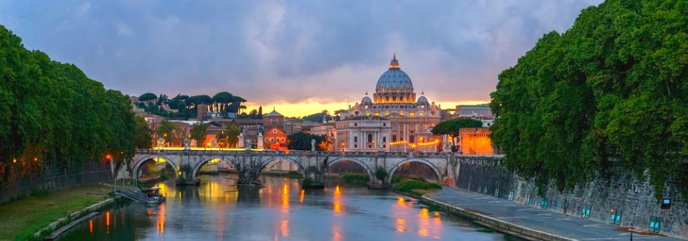 Italiaans leren in Rome voor volwassenen. Ga op fietstour door Rome en ontdek de prachtige panoramische plekken van Rome.