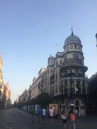 Directe omgeving van de Spaanse taalschool CLIC