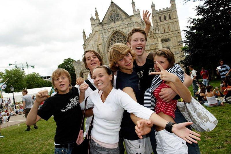 Taalkamp in Engeland voor kinderen en jongeren