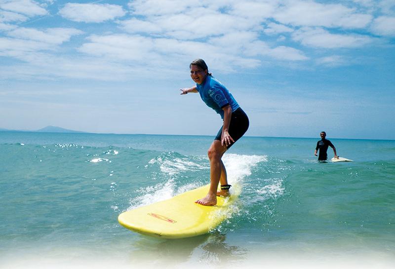 Taalkamp Frans met surfen